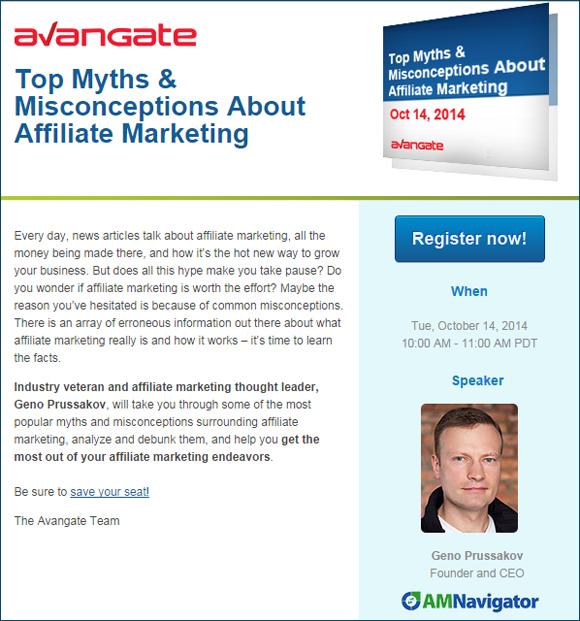 Avangate 2014 Webinar