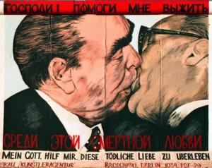 Brezhnev kiss